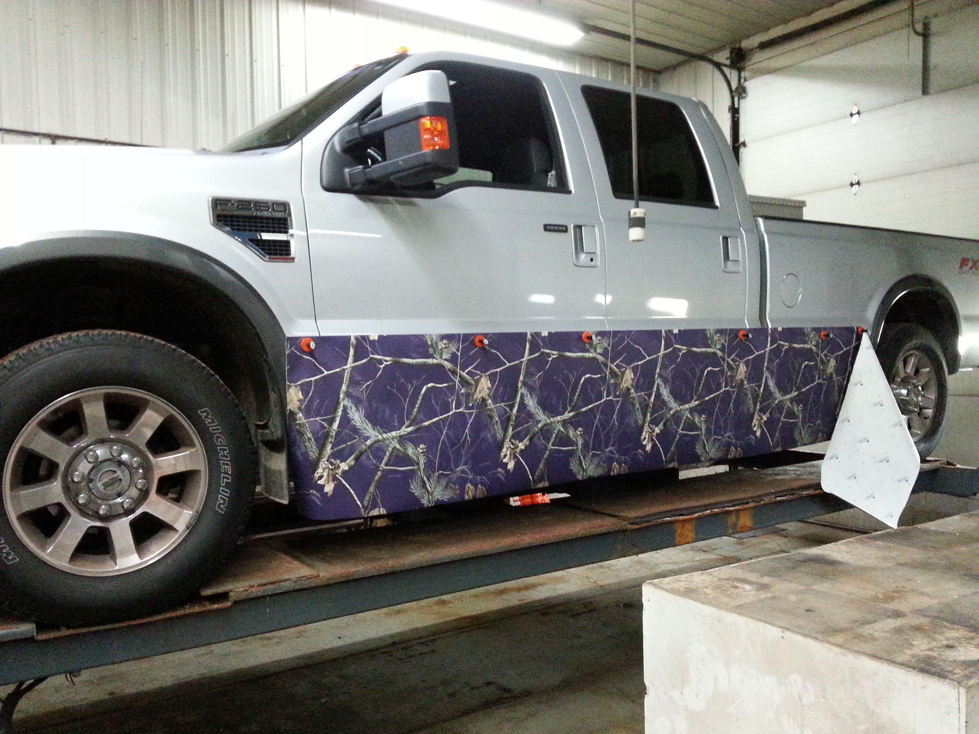 This Cadillac Wanted To Make Her Truck Pretty