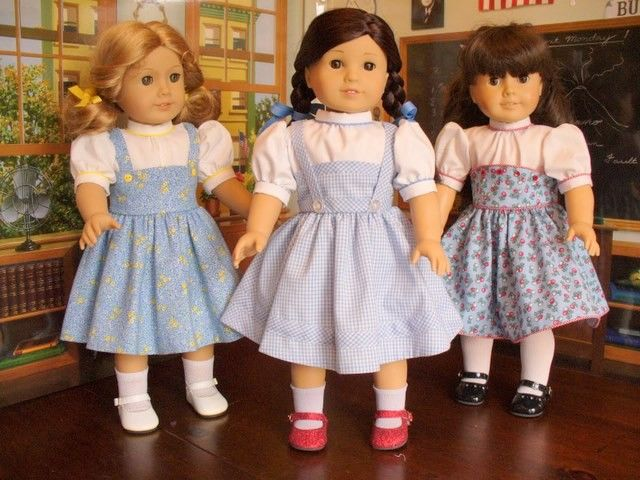 Doll Clothes Patterns, Dorothy and her Friends, No 1005. $13.00, via Etsy.