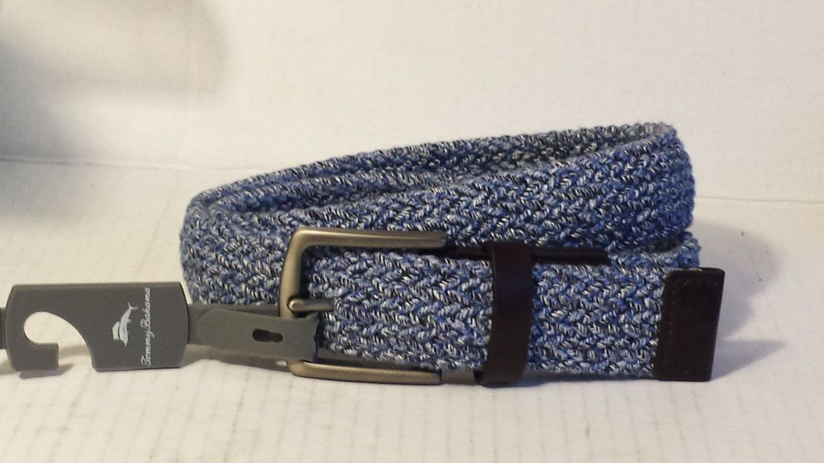 Tommy Bahama men size S synthetic twitted stretchable #belt light purple color visit our ebay store at http://stores.ebay.com/esquirestore