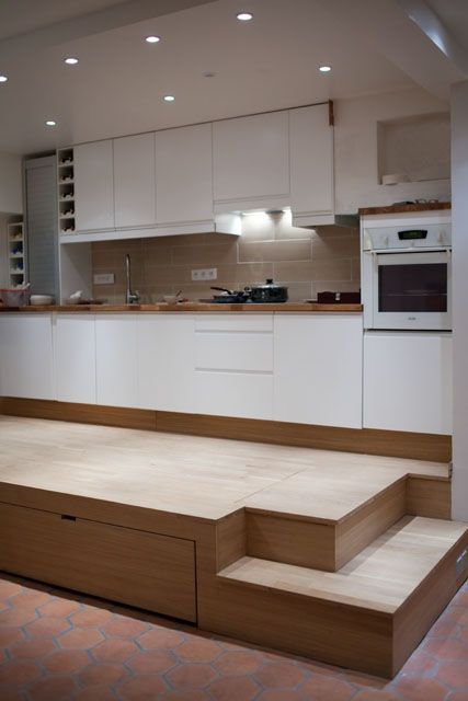 estrade rangement lit recherche google feel good living space pinterest viviendas. Black Bedroom Furniture Sets. Home Design Ideas