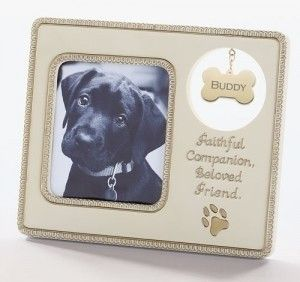 pack of 4 farewell friend pet dog memorial tag x photo picture frames - Dog Memorial Frame