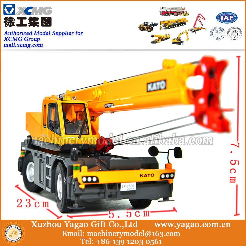 2016 New 1 50 Scale Diecast Construction Models for KATO Rough Terrain Crane  Model Toys c0897d80a5a4