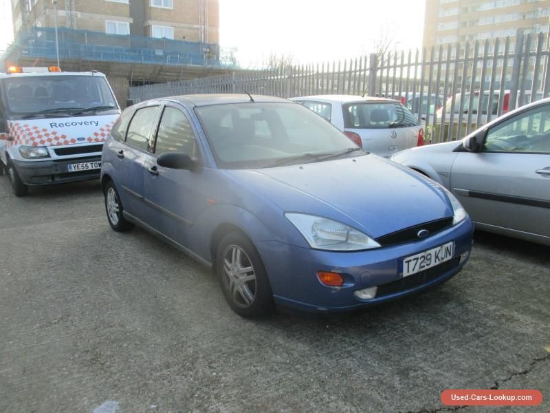 1999 Ford Focus Zetec Blue Spares Or Repairs Ford Focuszetec