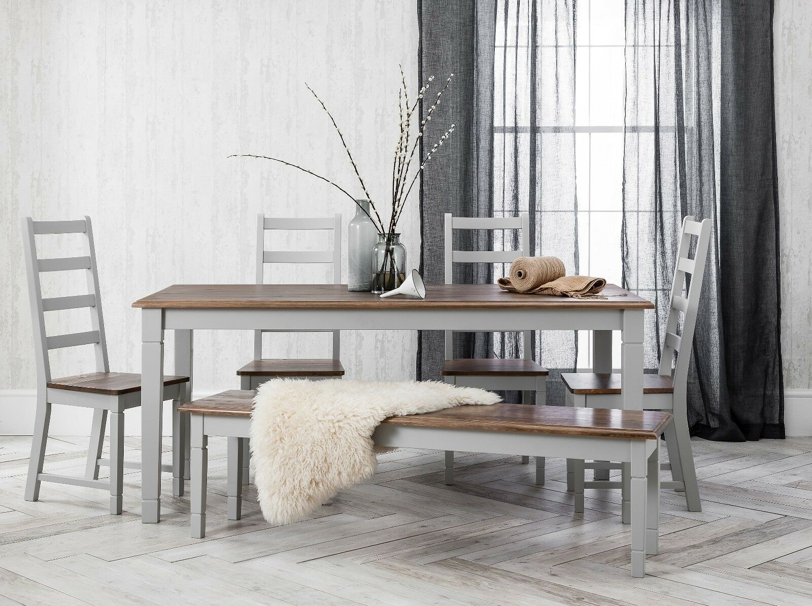 Pine Table And Bench   Live edge dining table, Pine table, Dining ...