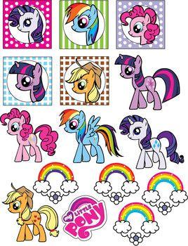Stickers Stickers My Little Pony Birthday My Little Pony