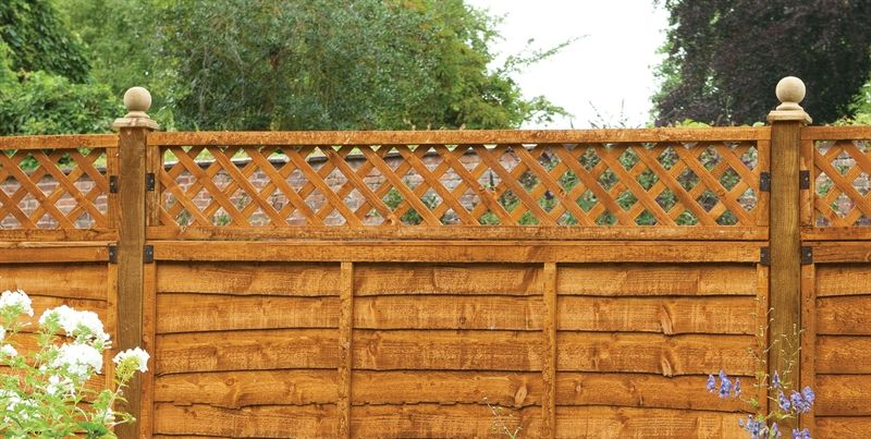 Diamond Lattice Fence Topper | Buy Fencing Direct UK