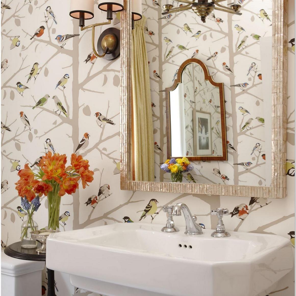 29+ Schumacher Birds and Butterflies Wallpaper