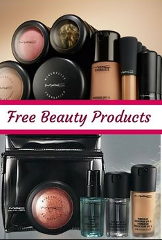 How to get free makeup products
