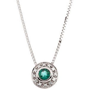 Genuine emerald and diamond necklace. Call or email for information and availability ddjewelry@gmail.com  (425)827-7722