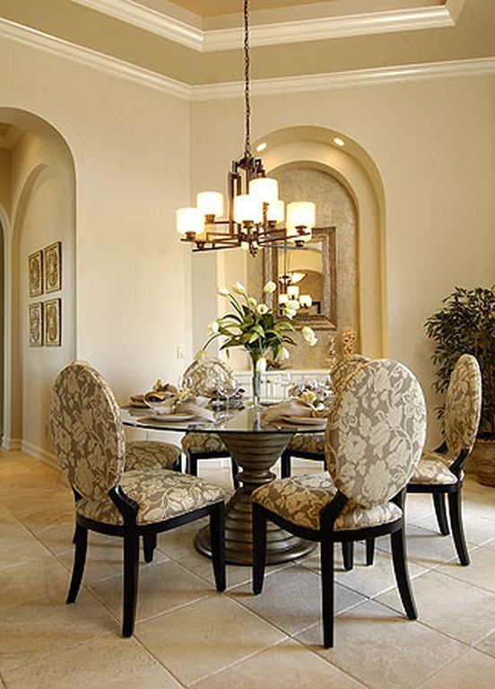 Formal Dining Room Round Table 30  Formal Dining Rooms Rounding Amusing Formal Dining Room Curtain Ideas Decorating Inspiration