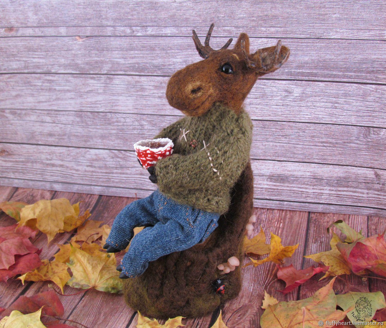 Autumn tea party elk shop online on Livemaster with