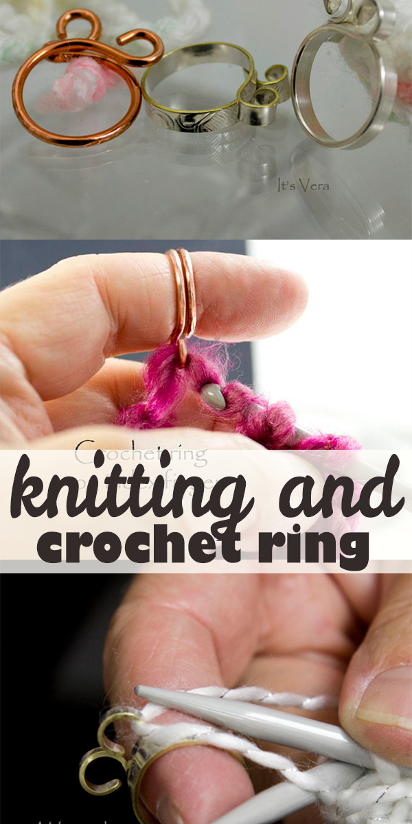 Keeps On Ringing: The Original 2 Loop Knitting And Crochet Ring Easily Keep