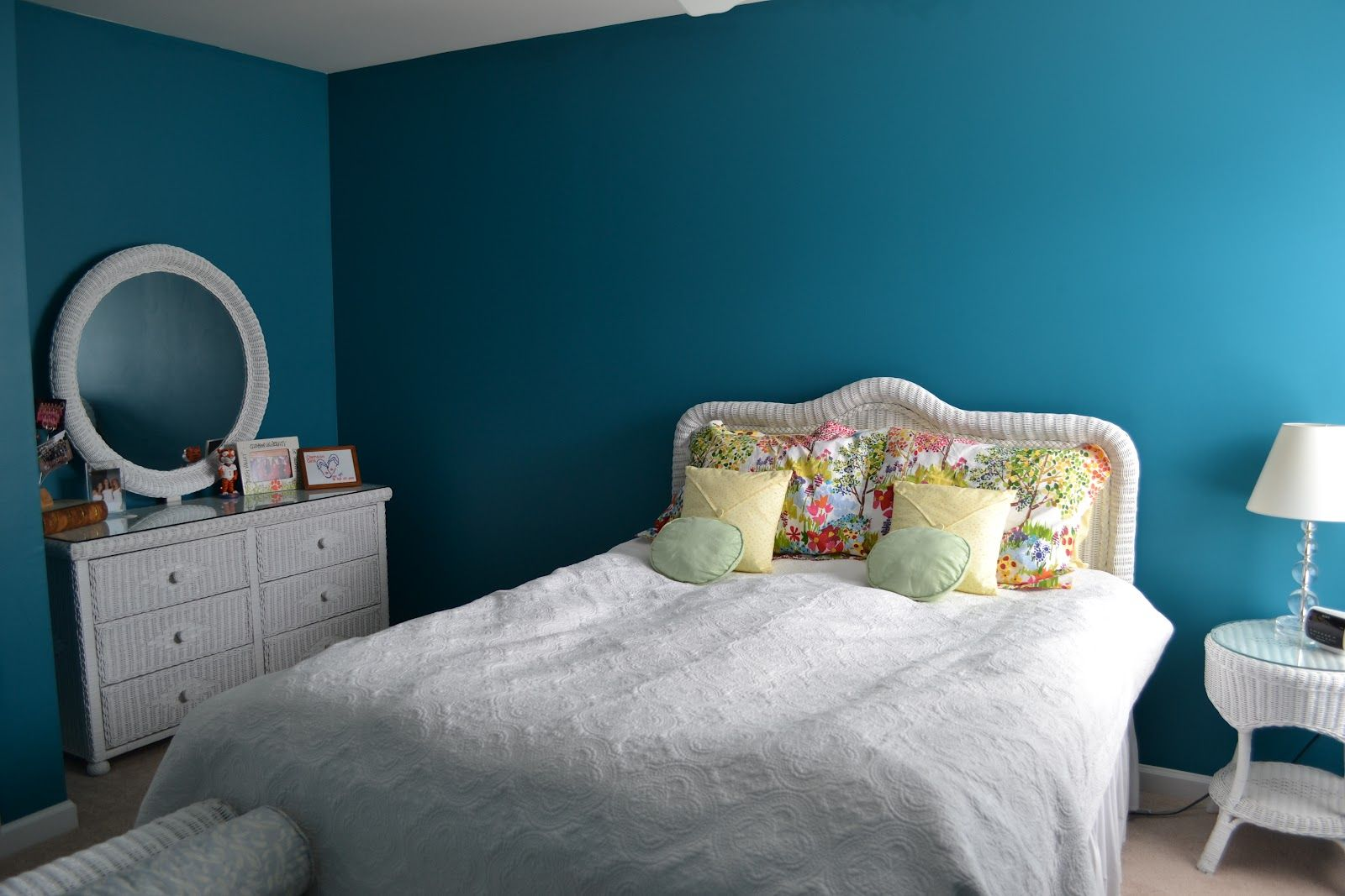 Maxi Teal Sherwin Williams For The Home Pinterest Bedroom Accent Walls Room And Wall Colors