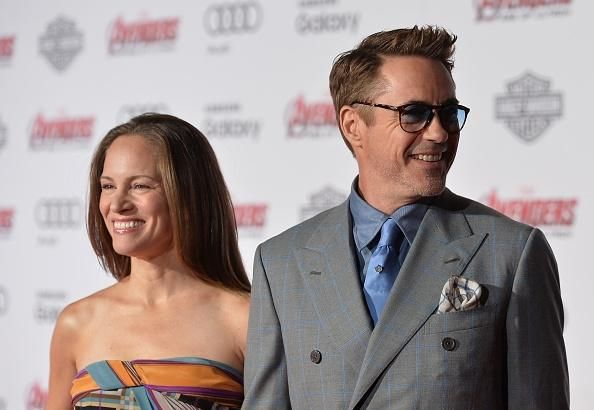 Robert downey jr and susan levin wedding hairstyles