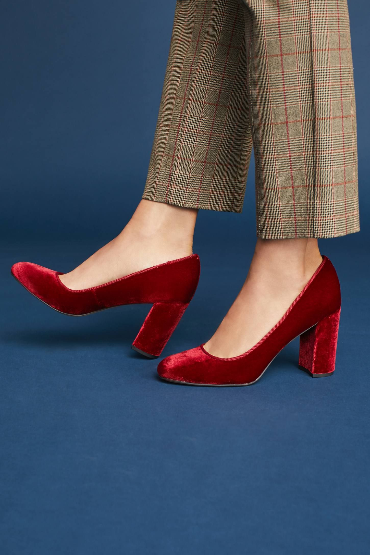 c7896a4a42 Shop the Sarto by Franco Sarto Aziza Velvet Heels and more Anthropologie at  Anthropologie today. Read customer reviews, discover product details and  more.