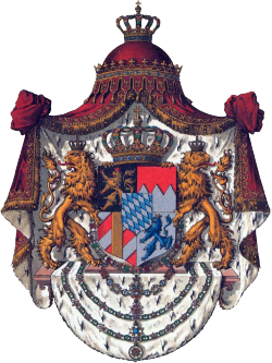 The coat of arms for the House of Wittelsbach! One of the royal families to come from Bavaria. And in its long history has provided two Holy Roman emperors, a king of Hungary, Greece, Norway, AND Denmark. (Talk about pedigree.) There used to be five cadet branches of the Wittelsbach, but as of right now only the House of Palatianate-Birkenfeld remains.