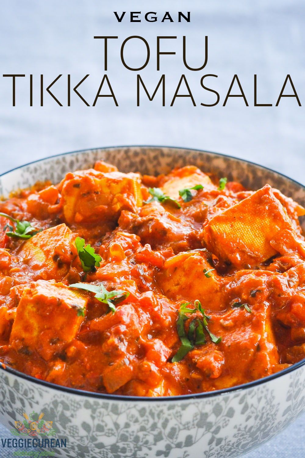 This Creamy Plant Based Quick And Easy Tofu Tikka Masala Is