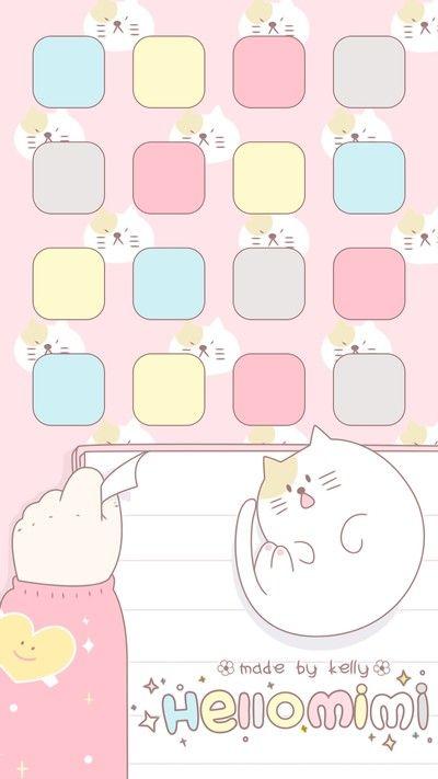 Pin By Riska Putri Angelina On Iphone 6 Iphone Homescreen Wallpaper Diy Prints Sanrio Wallpaper