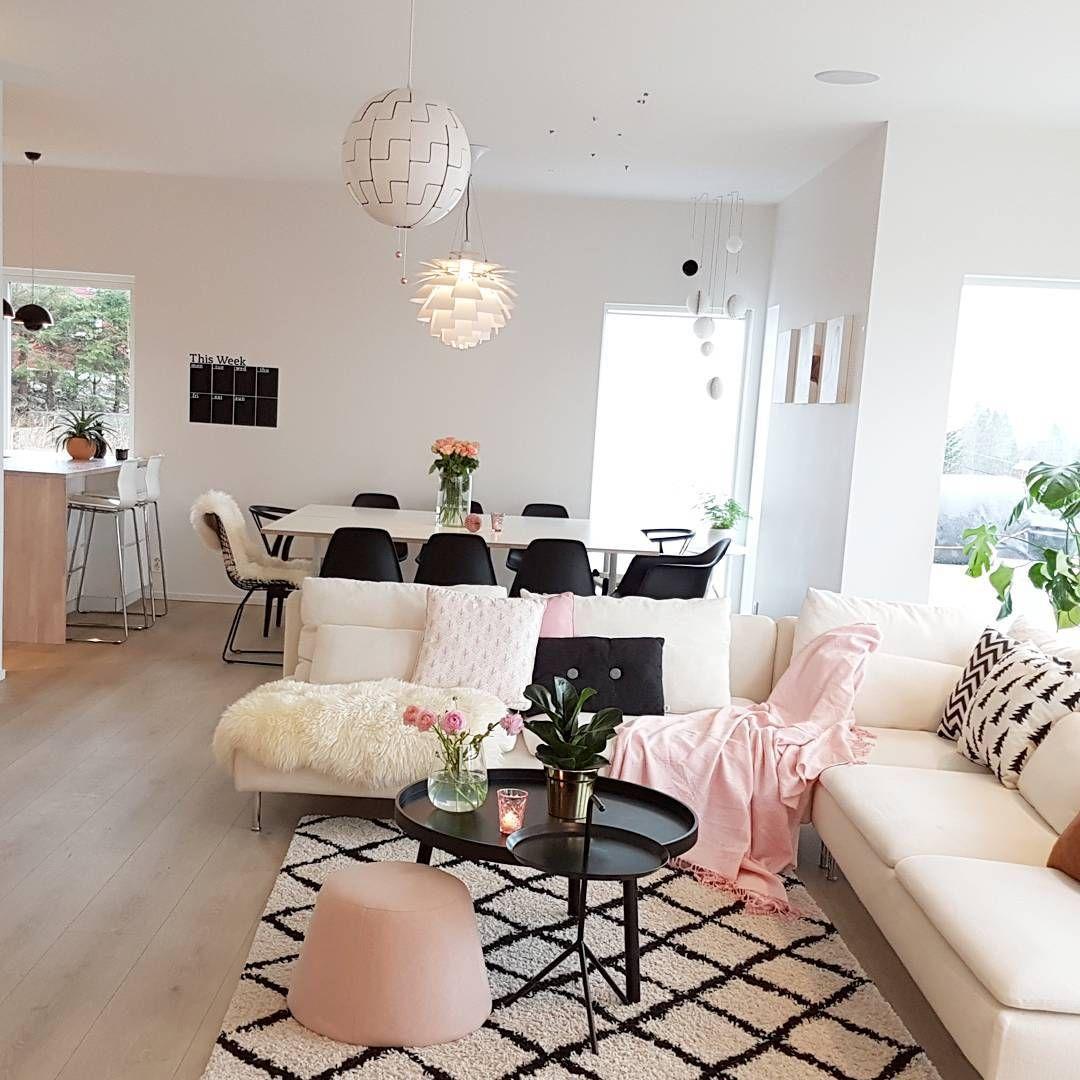 Desain Interior Ruang Tamu Ruang Keluarga Ruang Makan Dan