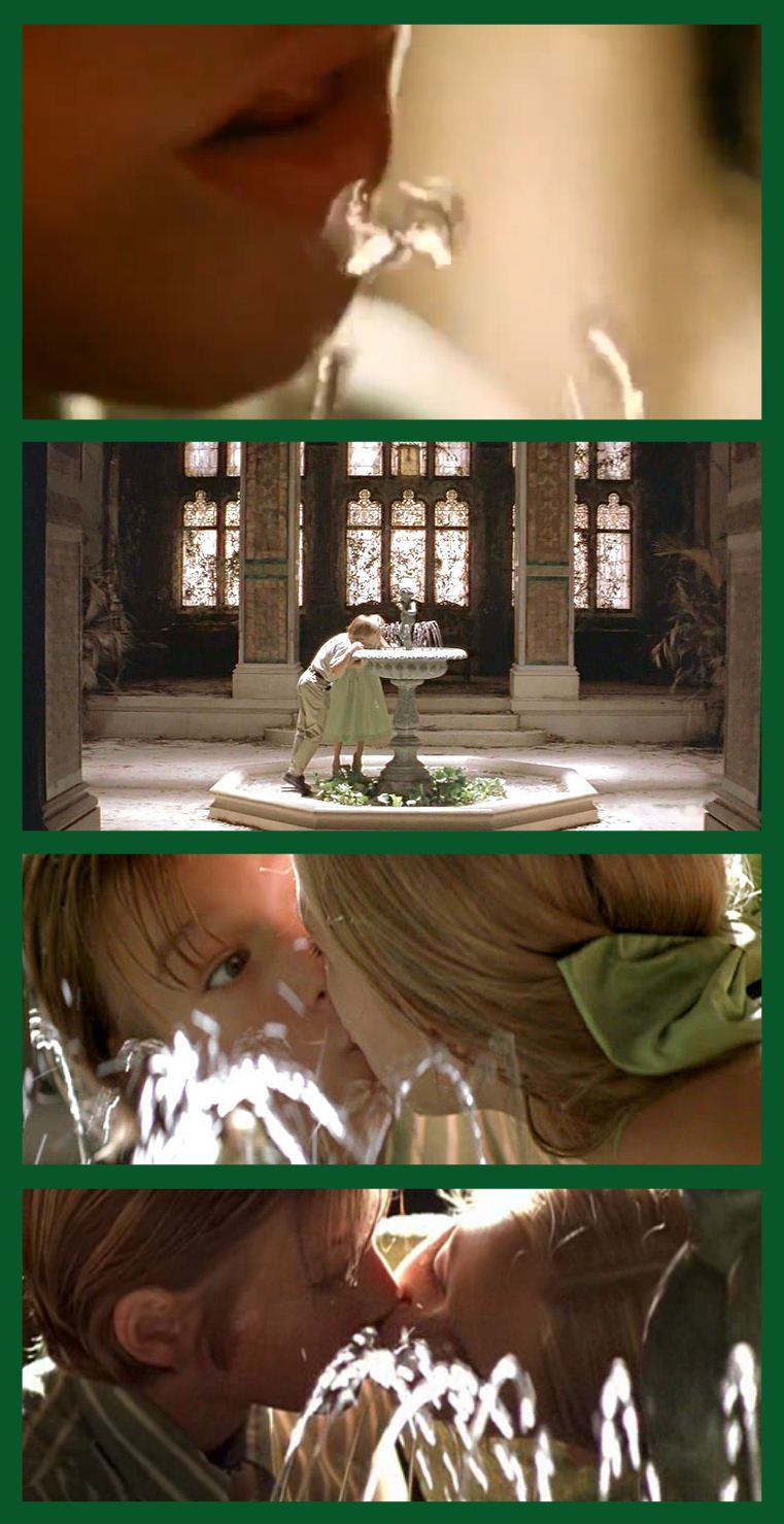 One Of The Most Beautifully Shot Directed Etc Scenes Of Any Film The Childhood Fountain Kiss On Great Expectations Great Expectations Scenes Fountain