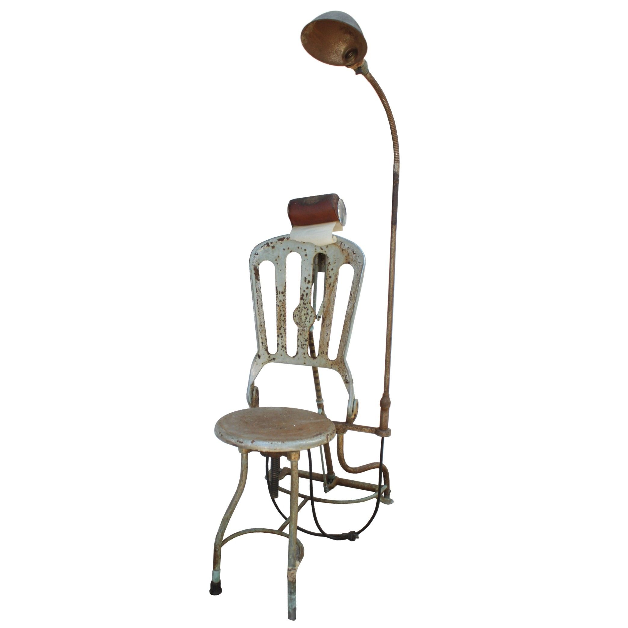 Fantastic Antique Dental Chair Dayton OH