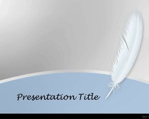 White feather powerpoint template ppt pinterest template free white feather powerpoint template with feather image toneelgroepblik Choice Image
