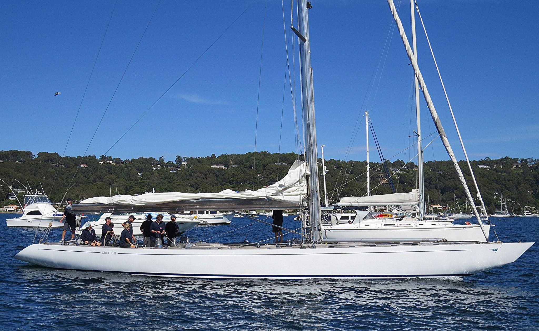 Img_0116001 gretel 11 in 2020 yacht design classic