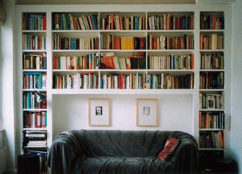 low priced b7adb 846a6 Little Kenyan Home | Living Room Ideas | Wall bookshelves ...