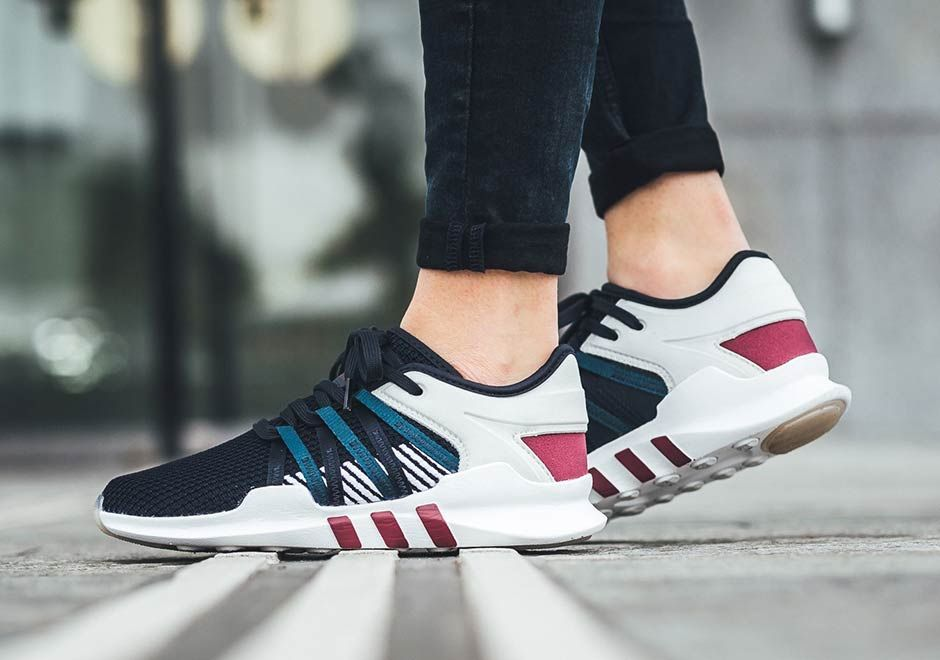 the latest a8513 de4cd adidas Originals re-introduction of their prized EQT models has stretched  to the EQT Racing 93, a womens specific performance model that is now a  viable ...