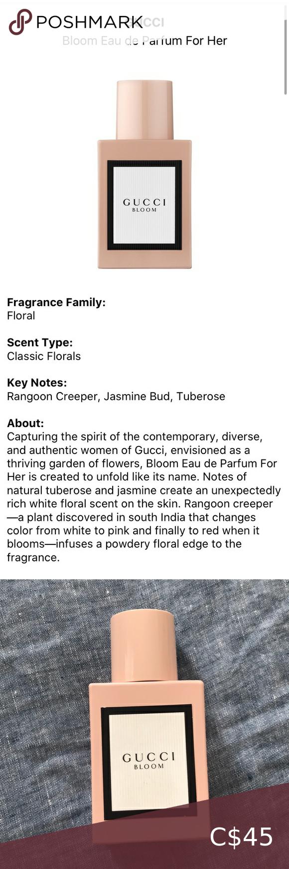 80 Gucci Bloom Parfume Floral Scent Bloom Floral