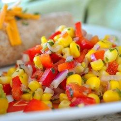 recipe: roasted corn with peppers and onions [11]