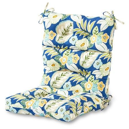 Outdoor One Piece Seat And Back Cushion Greendale Multicolor