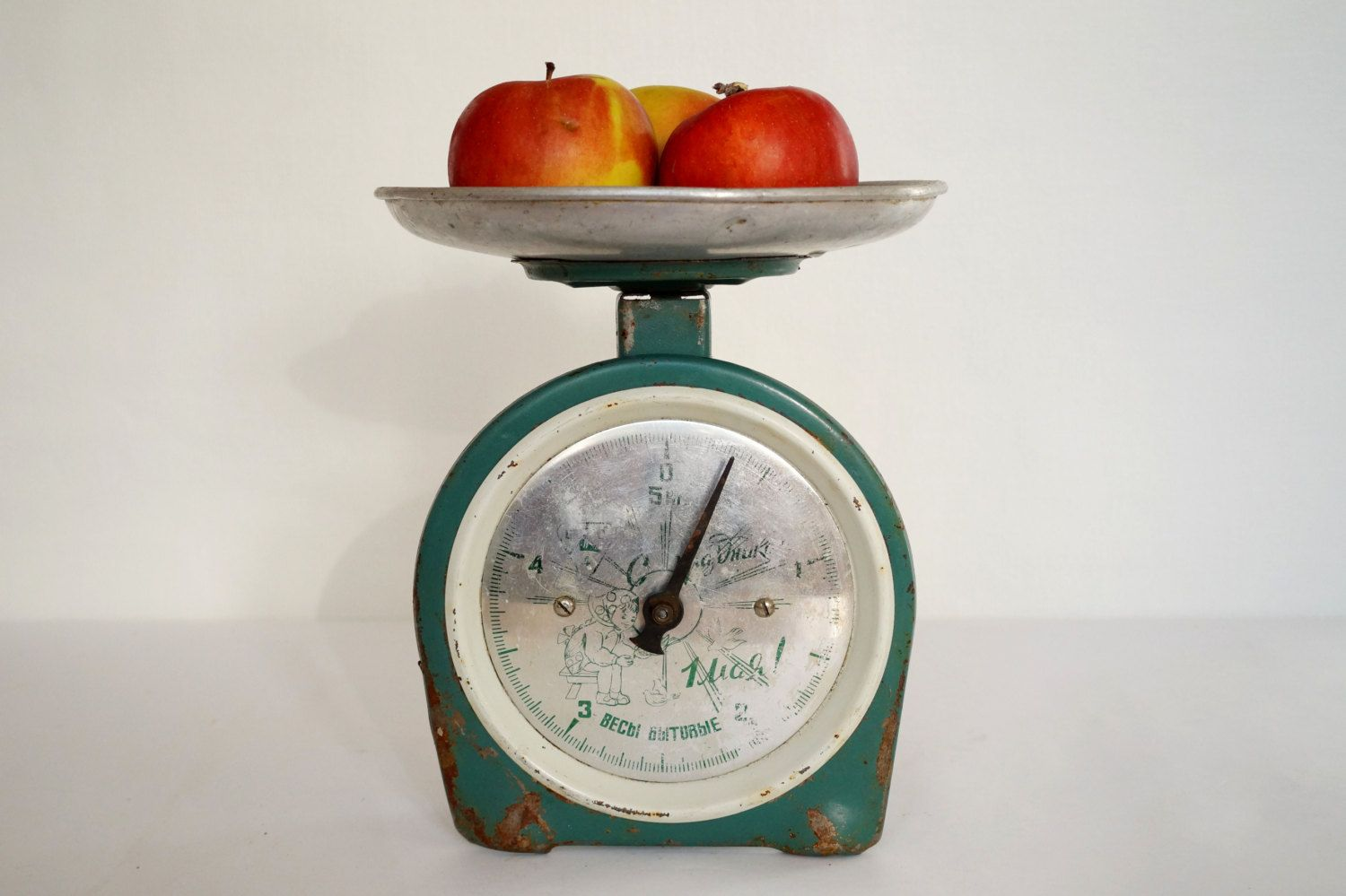 Old Scales Kitchen Scale Family Scale Vintage Scales Metal