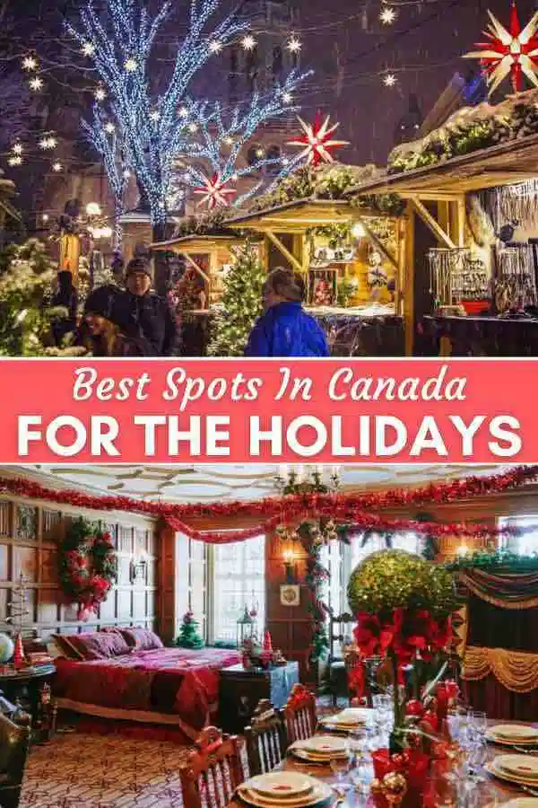 Christmas In Canada In 2020 Canada Christmas Christmas Travel Canada Travel