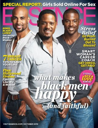 Boris, Blair and Lance on October 2010 cover of ESSENCE. Just breathe. That's what we're trying to tell ourselves as the fall TV season begins. From Blair Underwood's role as an ultra-cool Commander in Chief, to Lance Gross' return as a steamy fireman, to Boris Kodjoe's double life as a spy and husband, prime time has never looked this sexy. http://bit.ly/Il1M5K