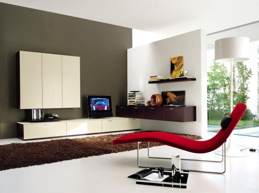 Wohnzimmer Wand Ecklösung  Modern living room wall, Living room