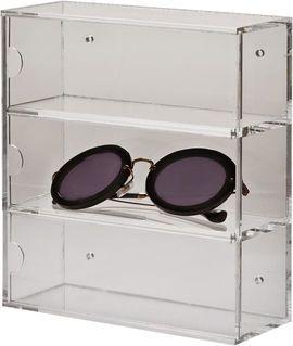 Nomess Copenhagen Clear eyewear box wall display