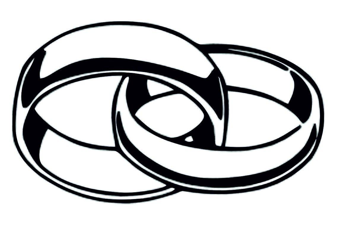 Verschlungene ringe symbol word  Modeschmuck