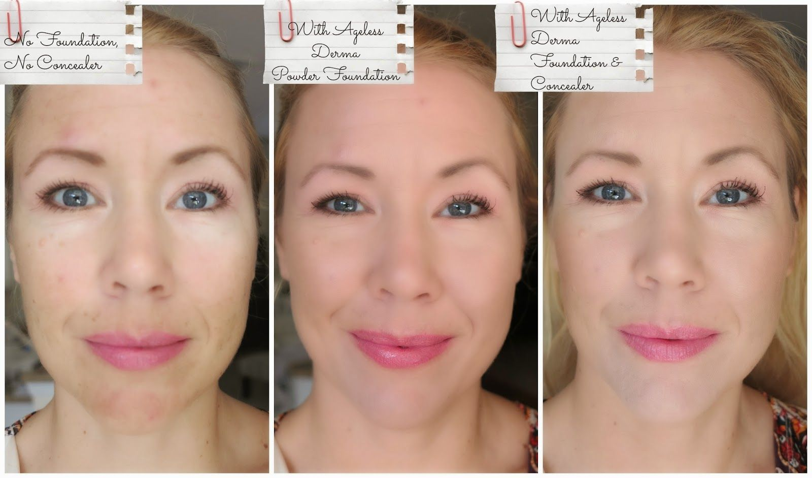 Welcome on Beauty4Free2U: Ageless Derma Pressed Mineral Makeup Foundation Review