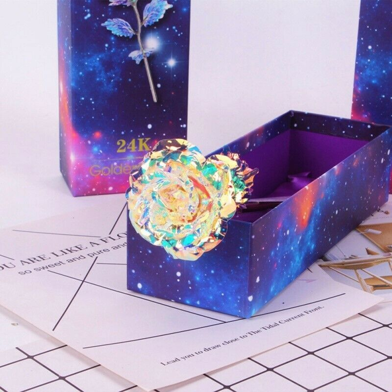 Galaxy Rose with Love Base ⭐ US Stock ⭐