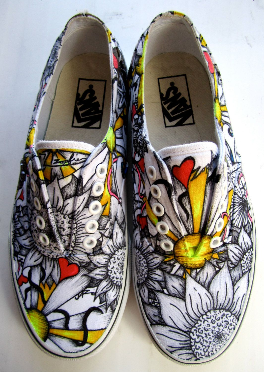 DIY White Shoes and Sharpie Sharpie shoes, Shoes