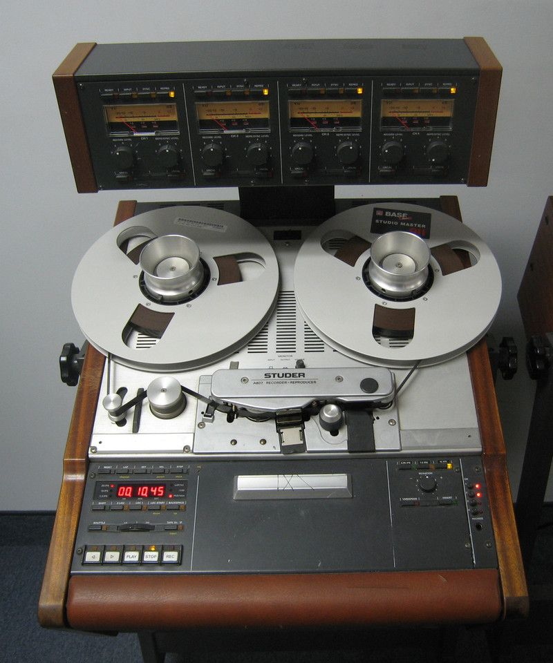 Studer A807 Tape Machine - Remix Numérisation - www remix