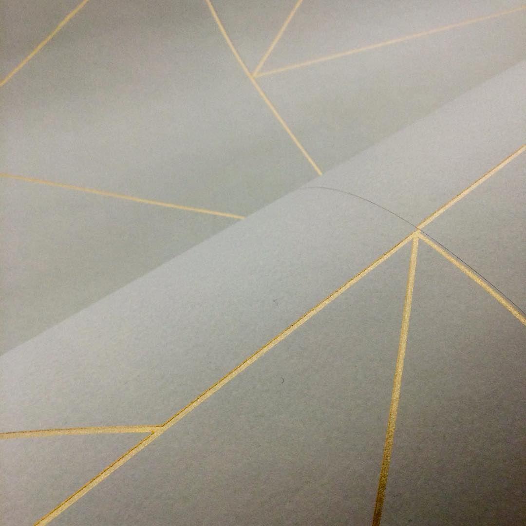 ferm living lines wallpaper in grey. Black Bedroom Furniture Sets. Home Design Ideas