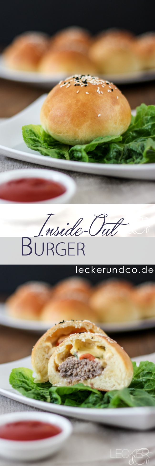 Inside Out Burger | Burger für unterwegs