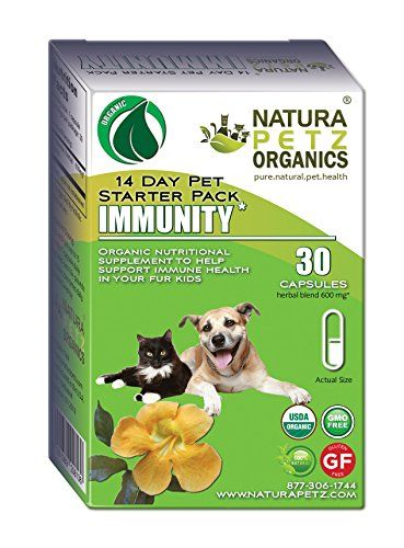 Natura Petz Organics  Immunity Starter Pack for Dogs and Cats -- You can get additional details at the image link.