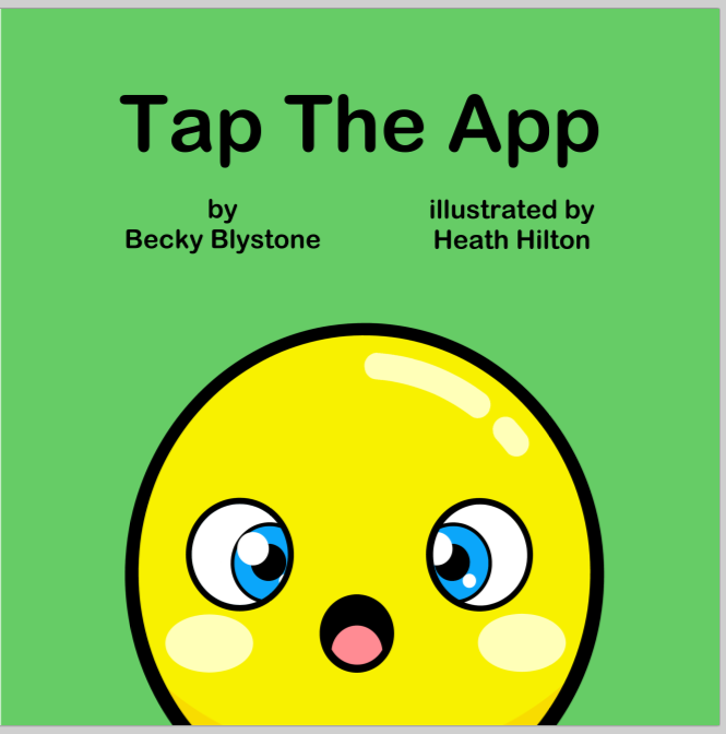 A NEW Preschool Interactive Picture book!!! Tap the App is