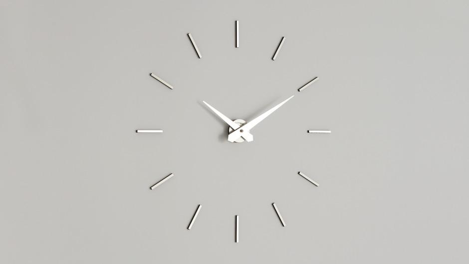 Zegar ścienny Aurea 200 Mb Biały Metal Incantesimo