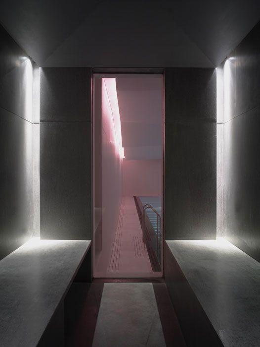 Limerick House Spa Limerick Ireland Led Displays Philips Color Kinetics Installation Luxury Spa Design Lighting Design Spa Lighting