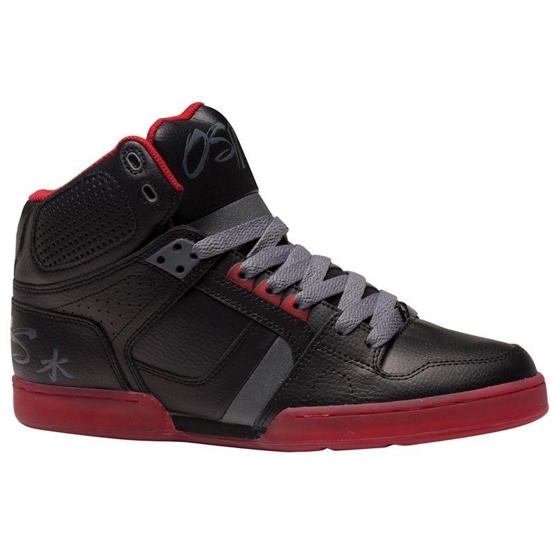 Zapatos rojos emo Osiris para hombre ksfeNAYBU
