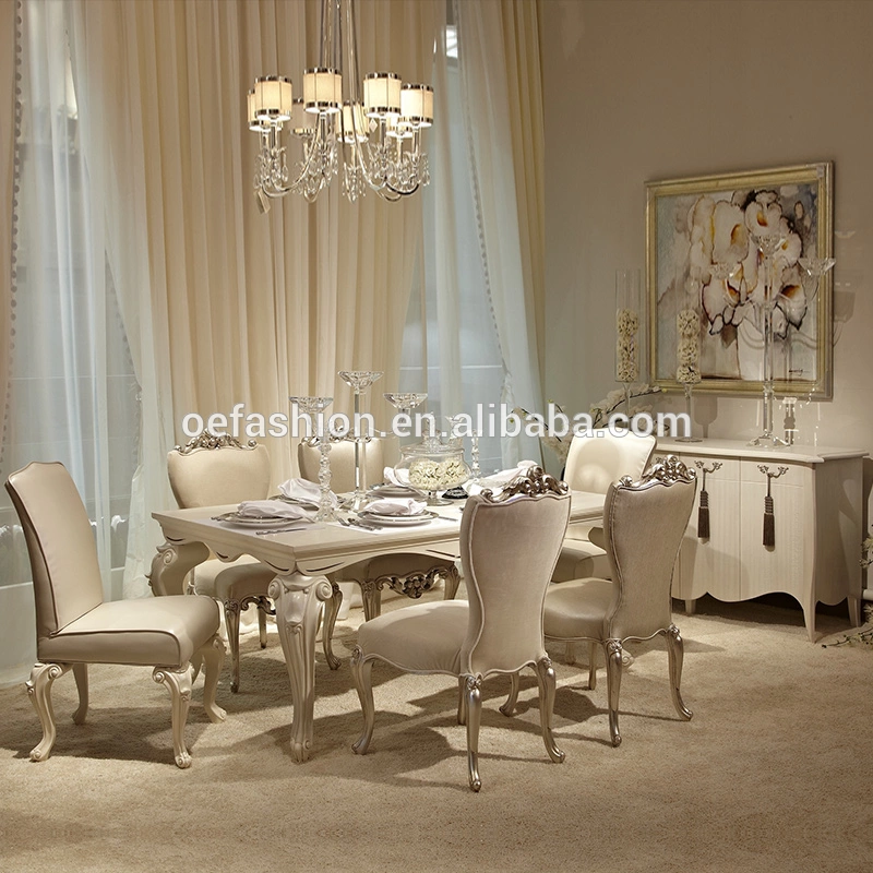 Oe Fashion New Classic Dining Room Furniture Table And Chair For
